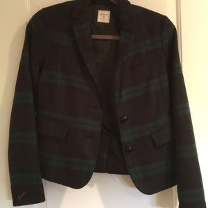 Gap plaid Blazer size 0 new